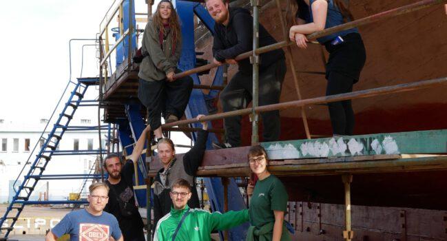 Werftblogeintrag vom 05.08.20