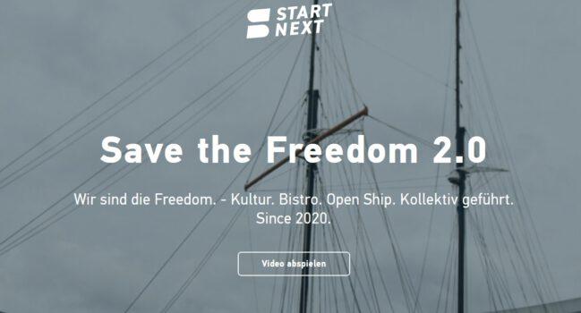 "Neue Crowdfunding Kampagne ""Save The Freedom 2.0"" auf Startnext"