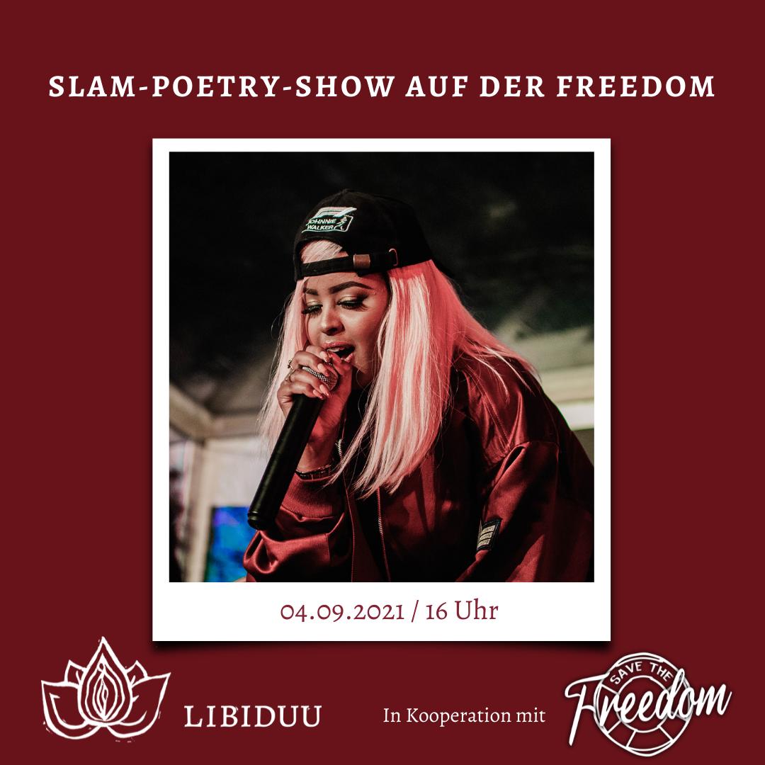Slam-Poetry Show: Poesie, intim wie nie! von Libiduu